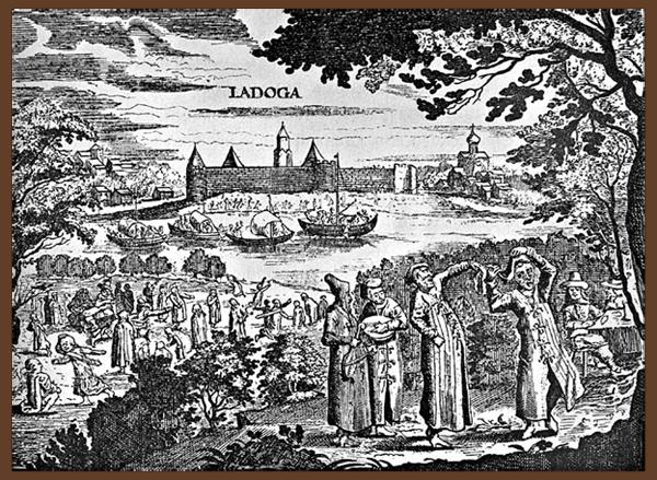 Зжатый доклад о церкви святого георгия в ладоге
