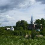Заручье - старинная деревня на озере Долгом