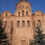 Центральное прясло южного фасада.